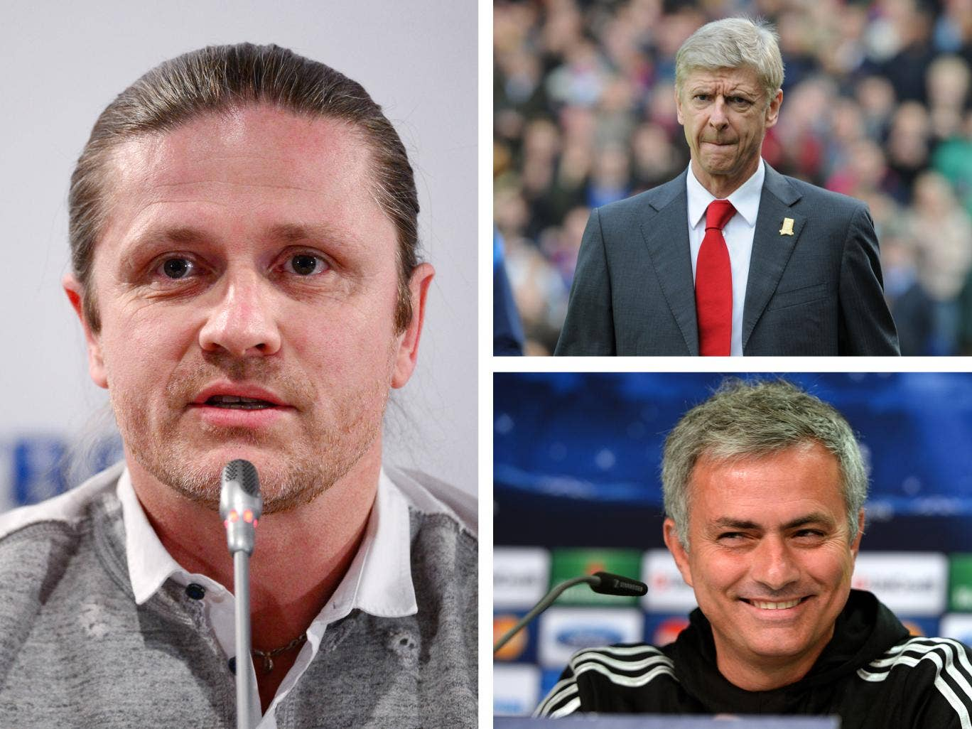 Emmanuel Petit has urged Arsene Wenger to stay away from Jose Mourinho's mind games
