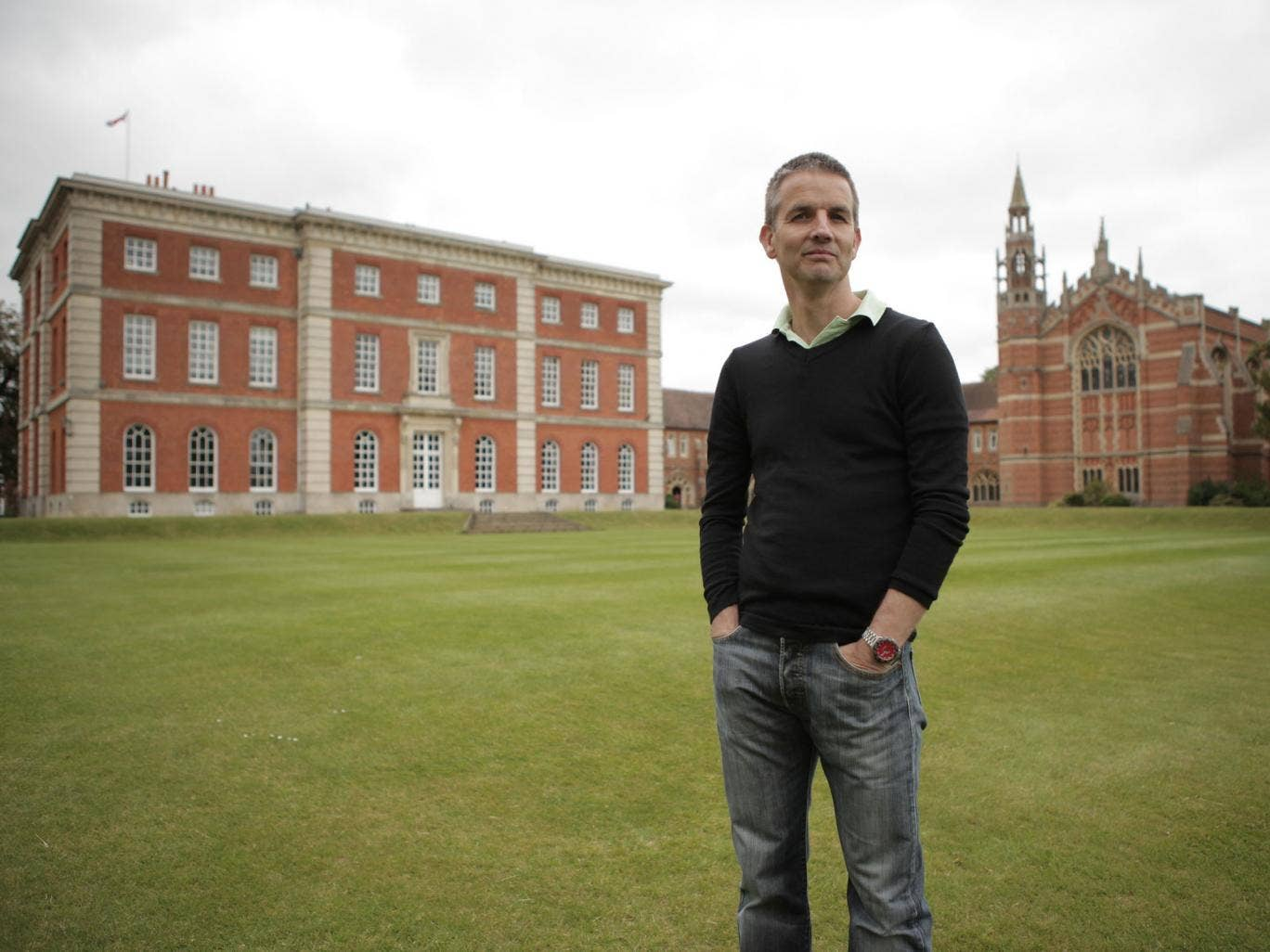 Former Radley college scholar Donald Payne stars in A Very English Education