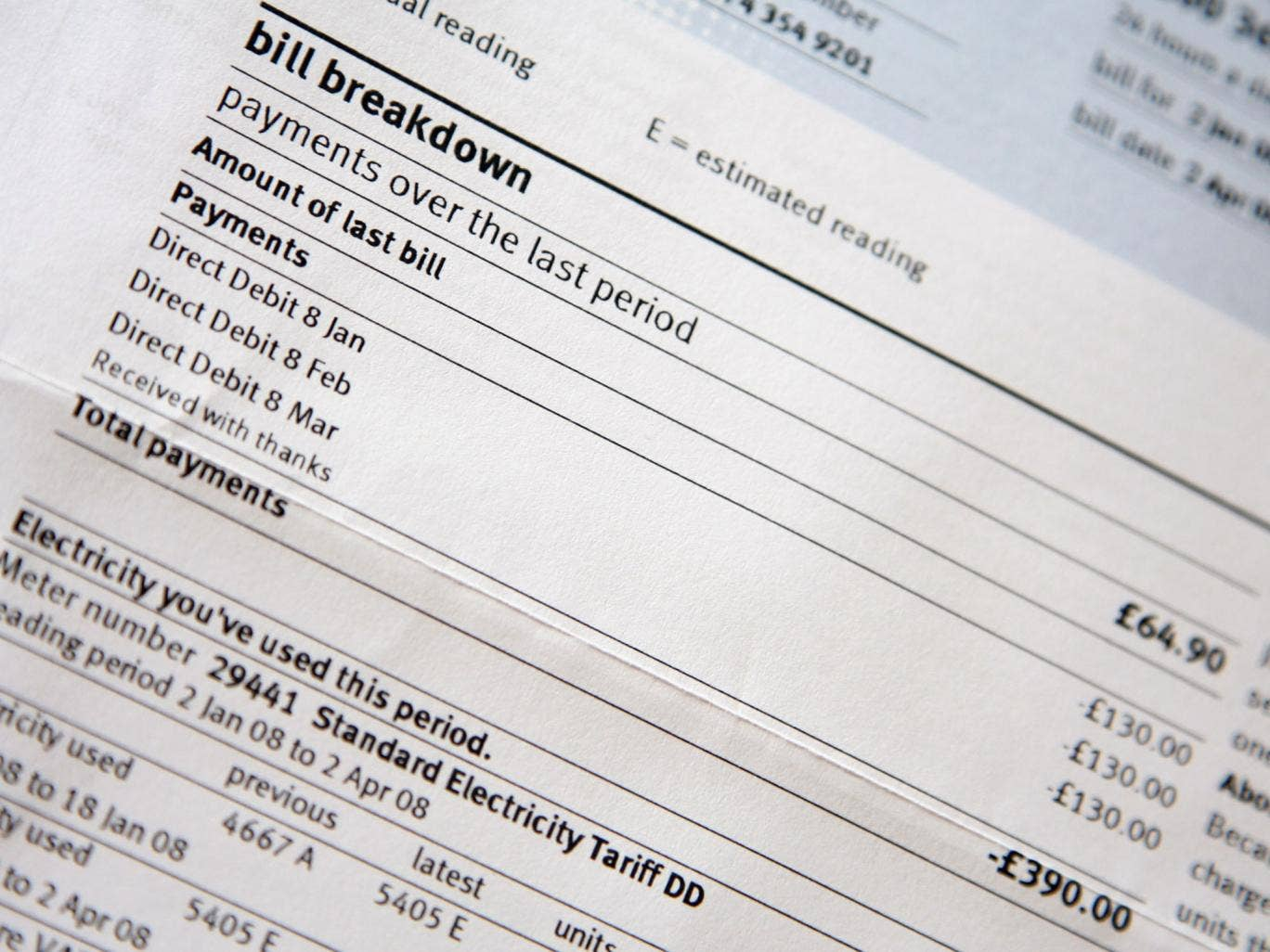 Energy bills are being artificially inflated by a lack of competition