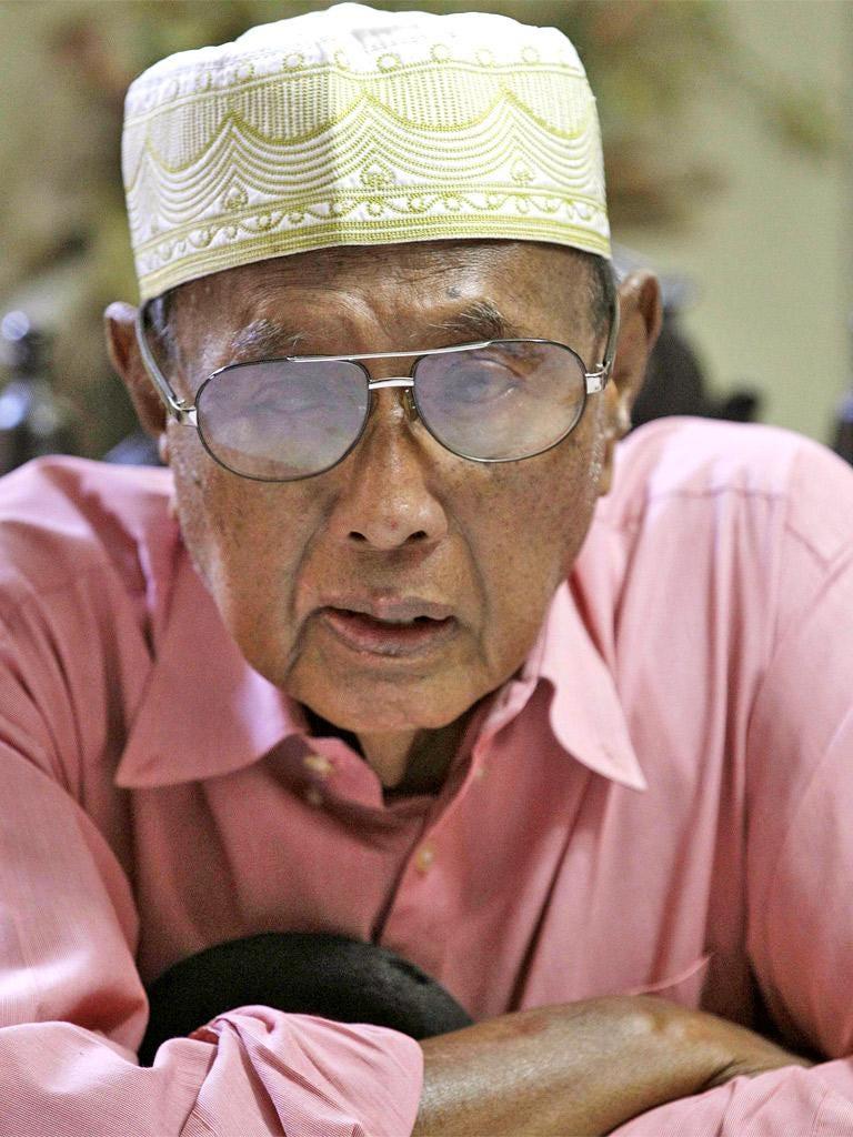 Jamalul Kiram III pictured in March
