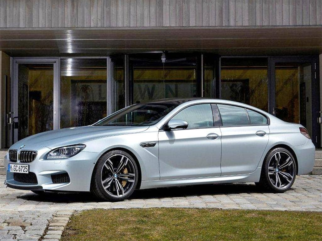 Luxury and performance: the BMW M6 Gran Coupé