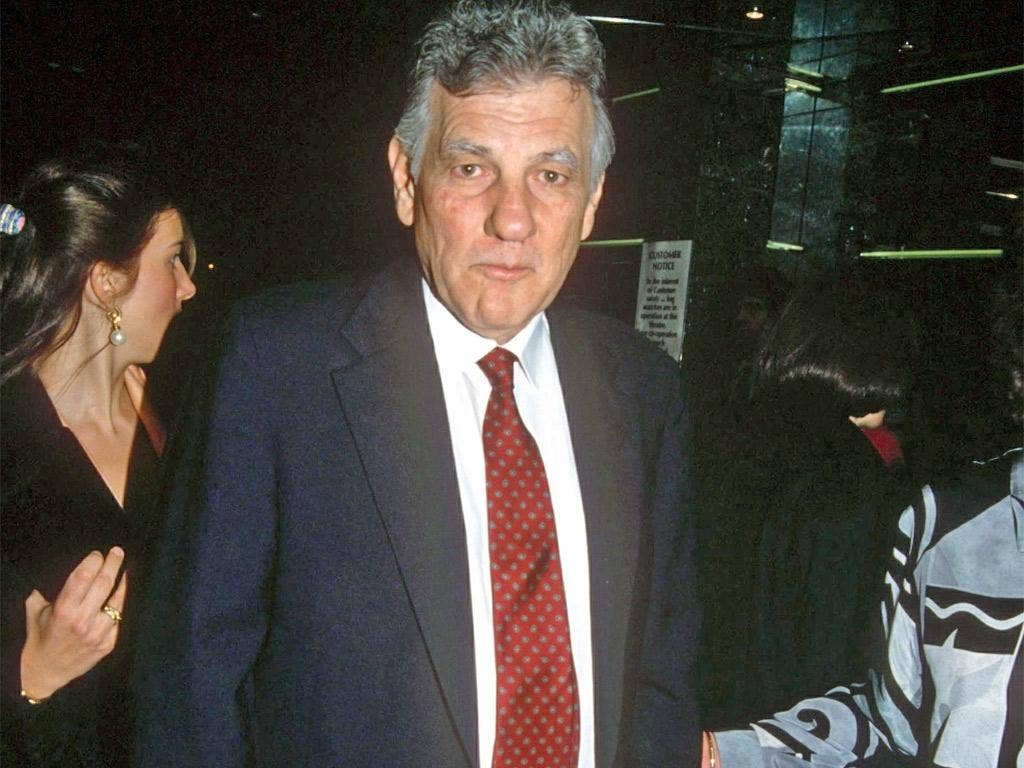 Odone attending the premiere of Lorenzo's Oil in 1993