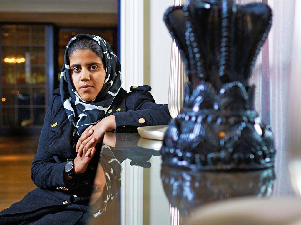 Anoud Senussi, daughter of former Libyan spy chief Abdullah