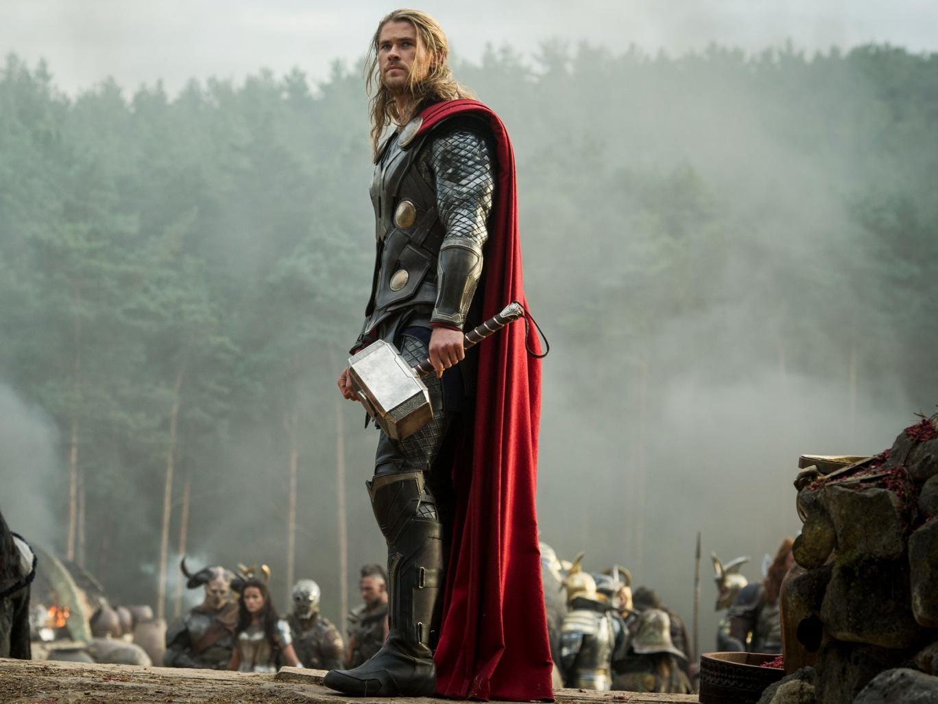 Chris Hemsworth stars in Thor: The Dark World