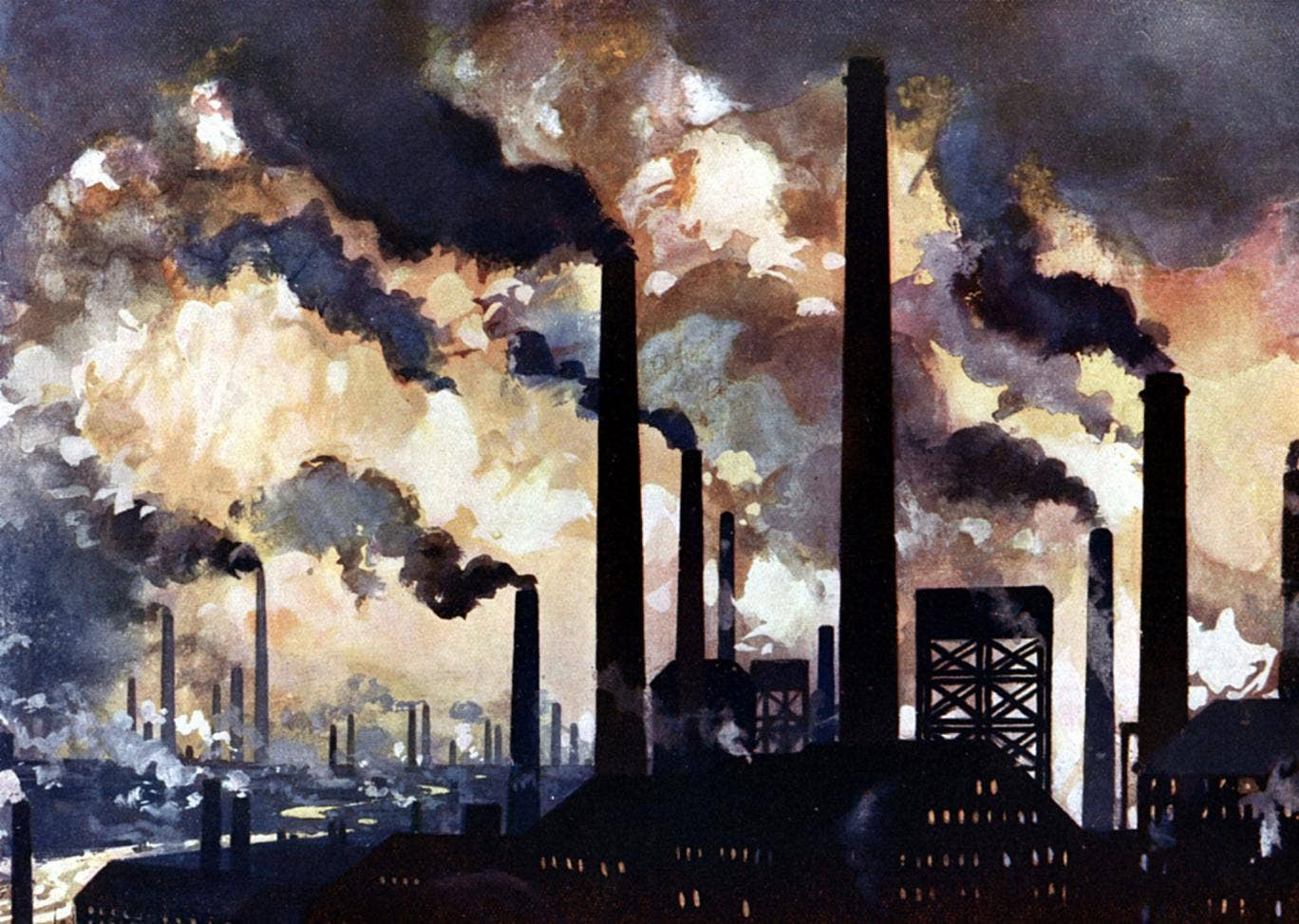 Smoke and mirrors of the past: Sheffield factories, circa 1925