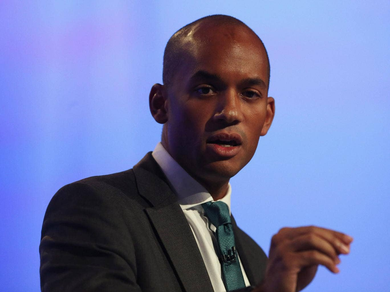 Chuka Umunna has claimed that black British actors head to the US to avoid 'lazy stereotypes'