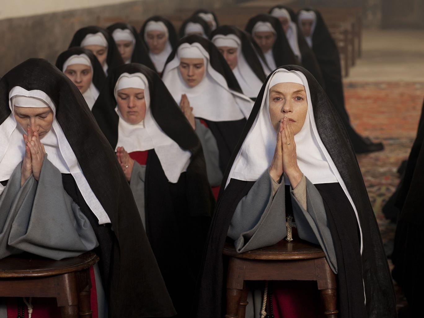 Isabelle Huppert in 'The Nun'