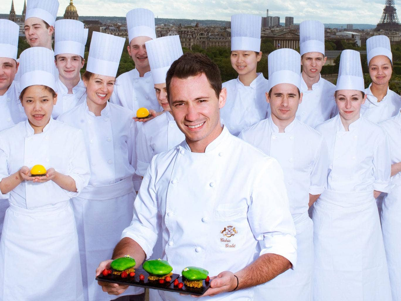 Just desserts: Cedric Grolet and his team