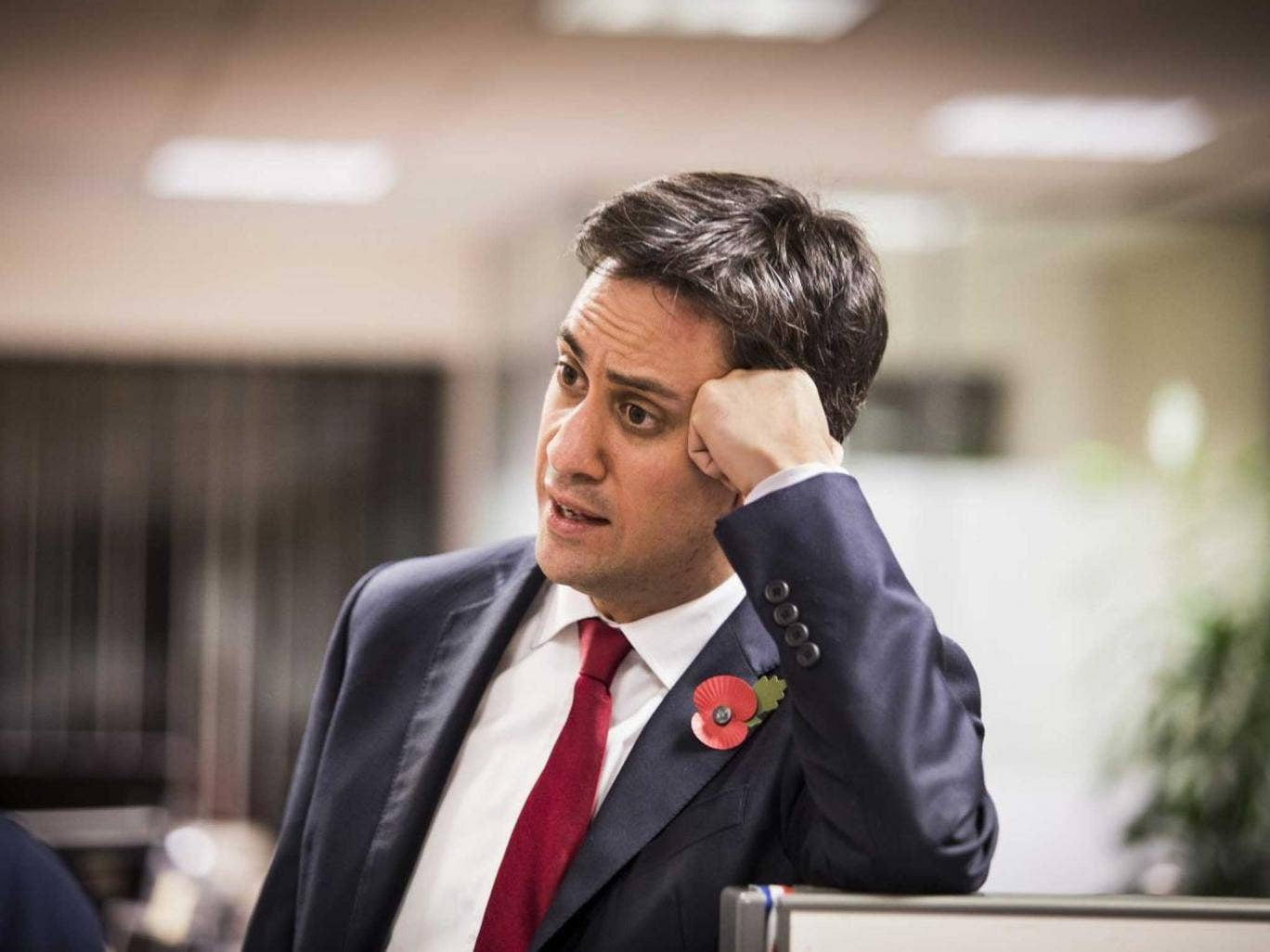 "Miliband claims Labour is ""setting the agenda"""