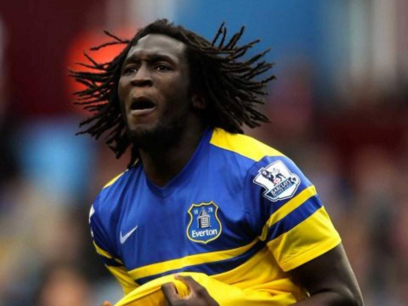 Loan star: Romelu Lukaku is proving as big a hit with Everton as he was with West Bromwich last year