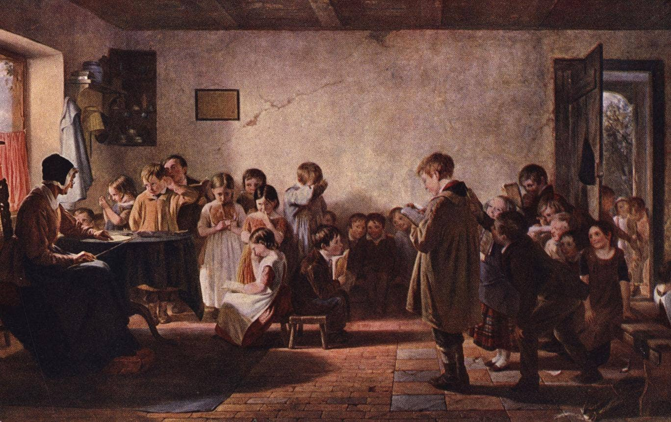 Young people leaving school in 1851 were better equipped with the skills to fill the most popular jobs of the time than they are today, according to research by an online learning provider.