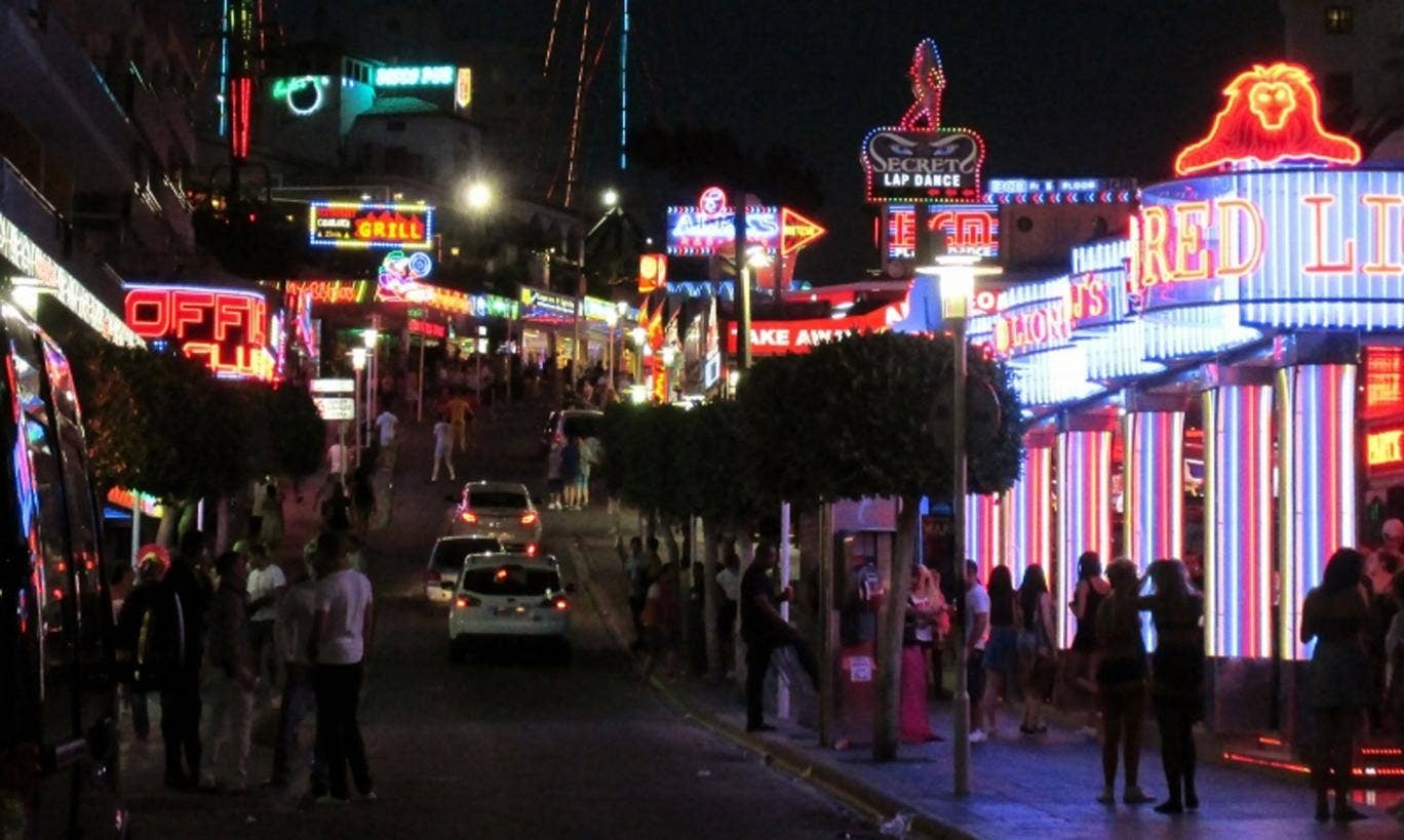 Magaluf remains a popular party destination for British holidaymakers, despite a growing reputation for street violence in recent years.