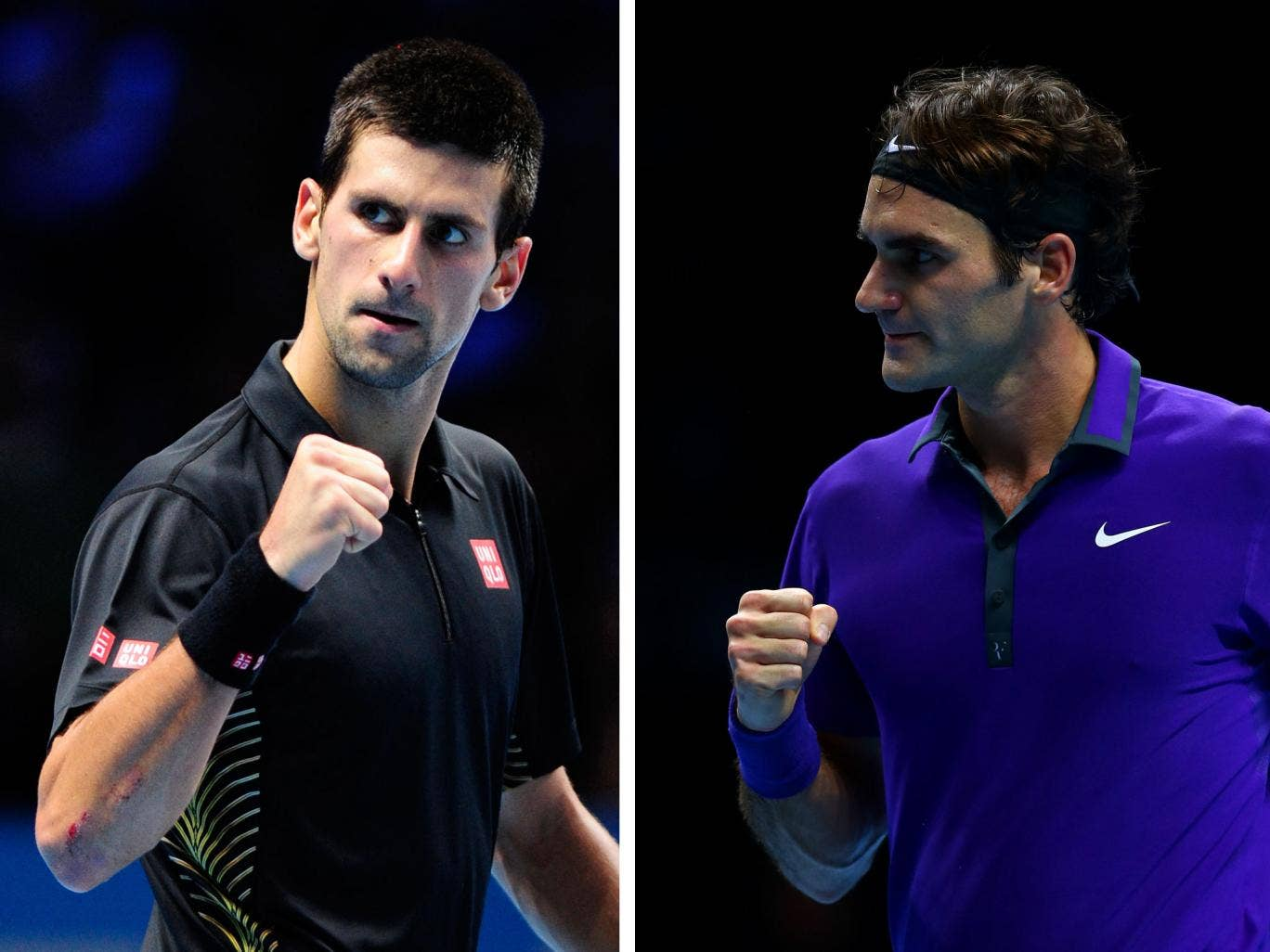 Novak Djokovic has claimed that a lack of movement is to blame for Roger Federer's poor form this season
