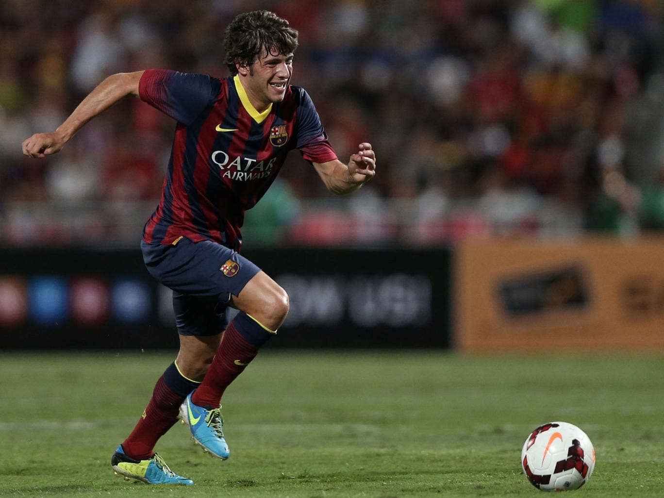 Barcelona midfielder Sergi Roberto is a reported target for both Tottenham and Liverpool