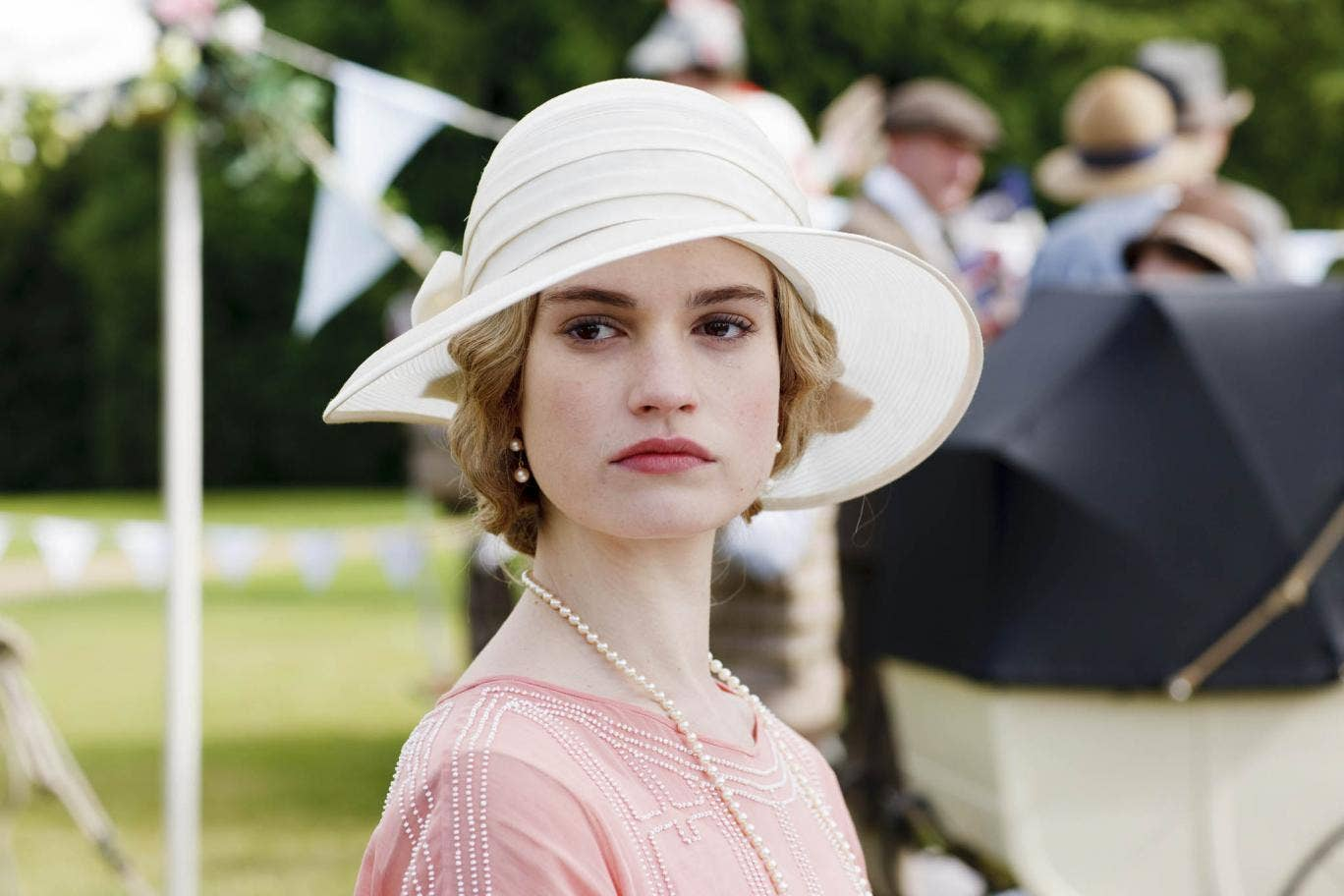 A defiant Lady Rose vows to marry Jack Ross in Downton Abbey