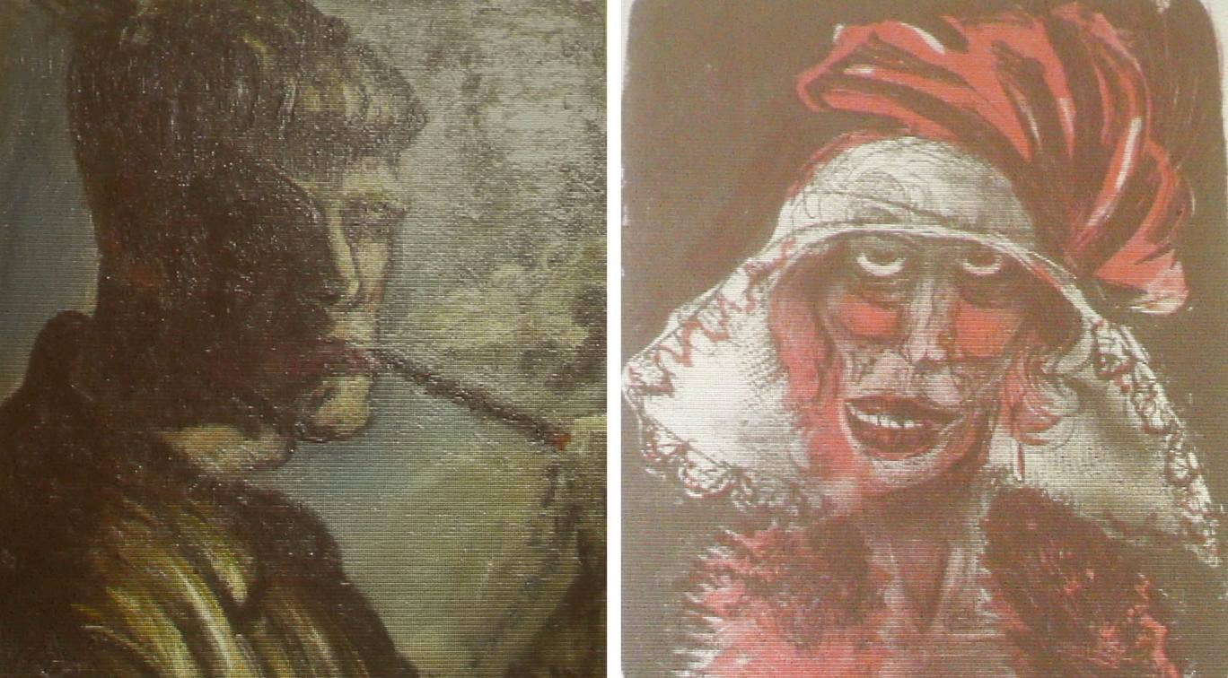 Two formerly unknown paintings by German artist Otto Dix, two of 1,500 artworks seized by the Nazis discovered in a Munich flat