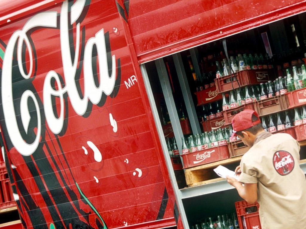 A Coke delivery in Puerto Vallarta, Mexico