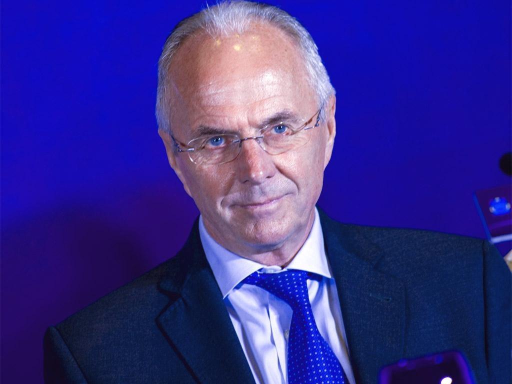 Sven Goran Eriksson became notorious for his affairs