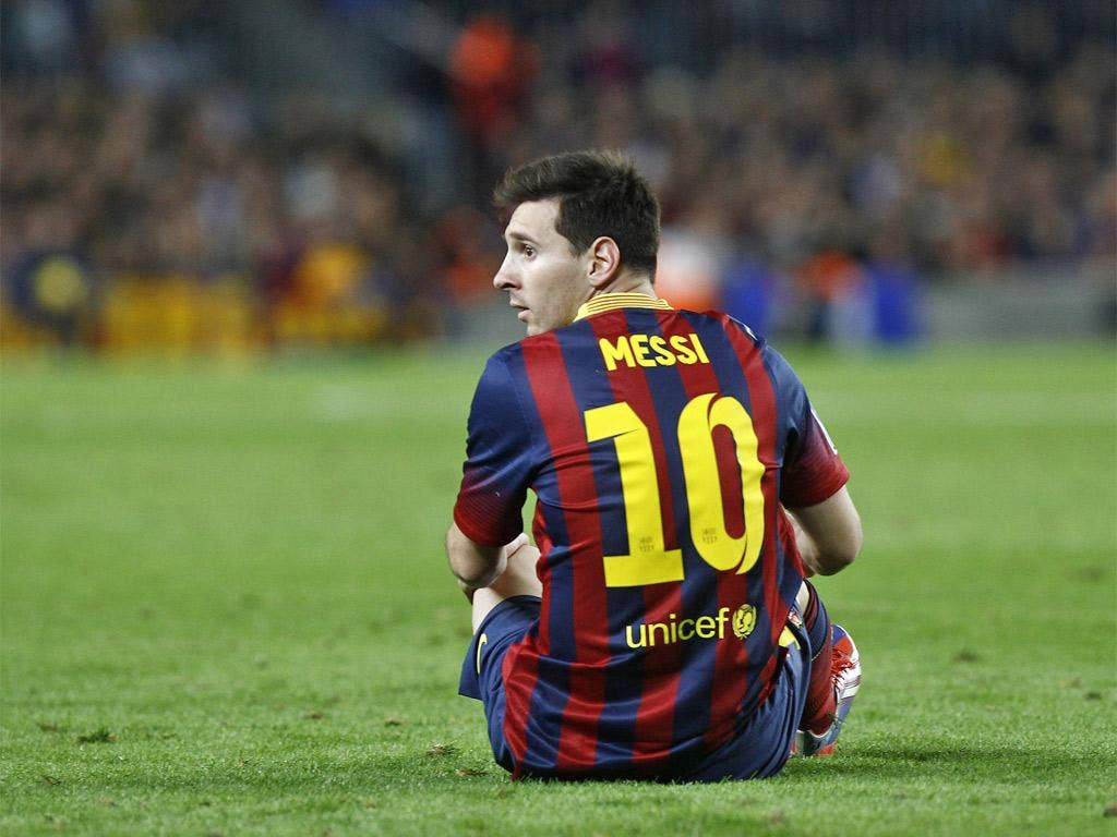 Lionel Messi is suffering his worst goalless run in two years