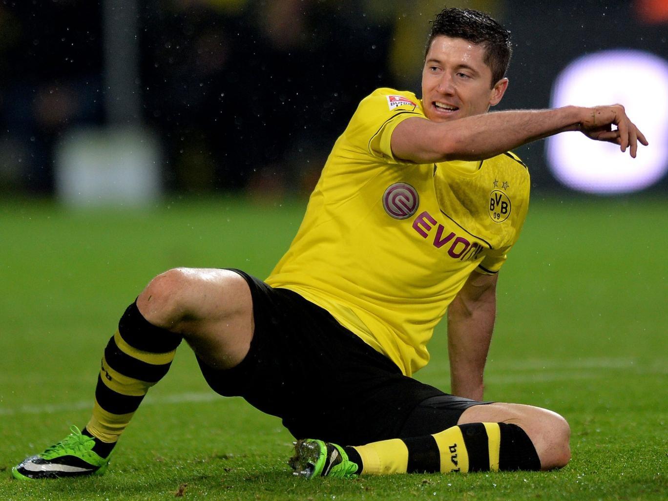 Borussia Dortmund striker Robert Lewandowski has decided on his future