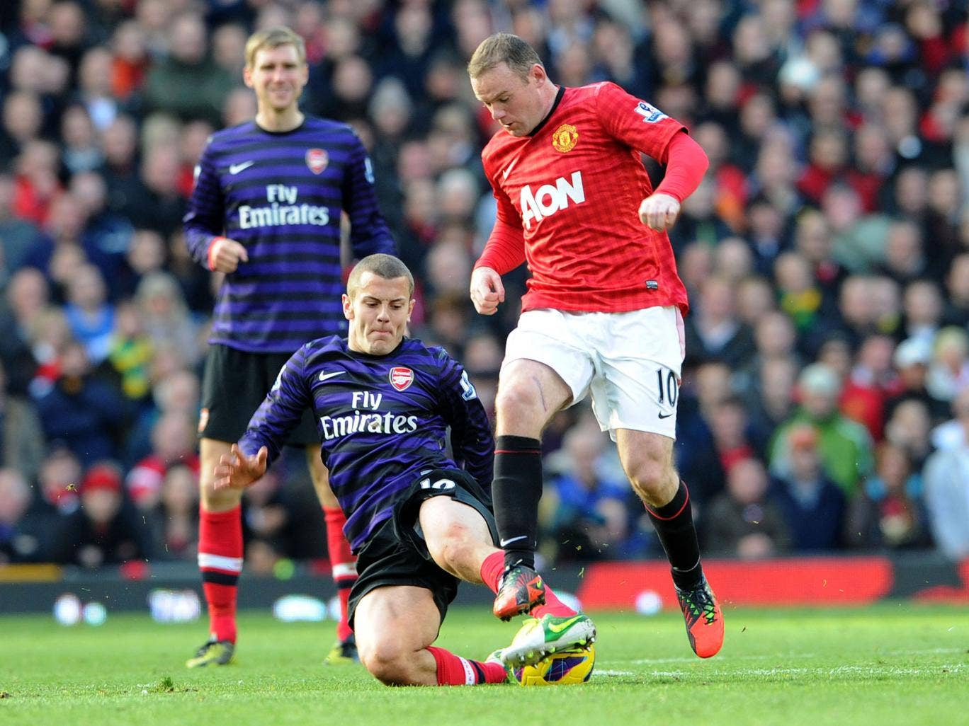 Wayne Rooney has a fine record against Arsenal