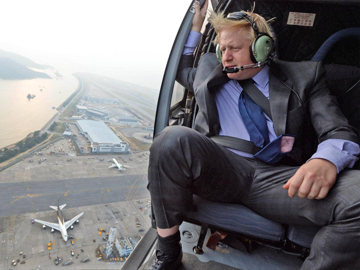 London Mayor Boris Johnson's ambitions to build an airport in the Thames Estuary has been dealt a major blow by Centrica's £4.4bn deal