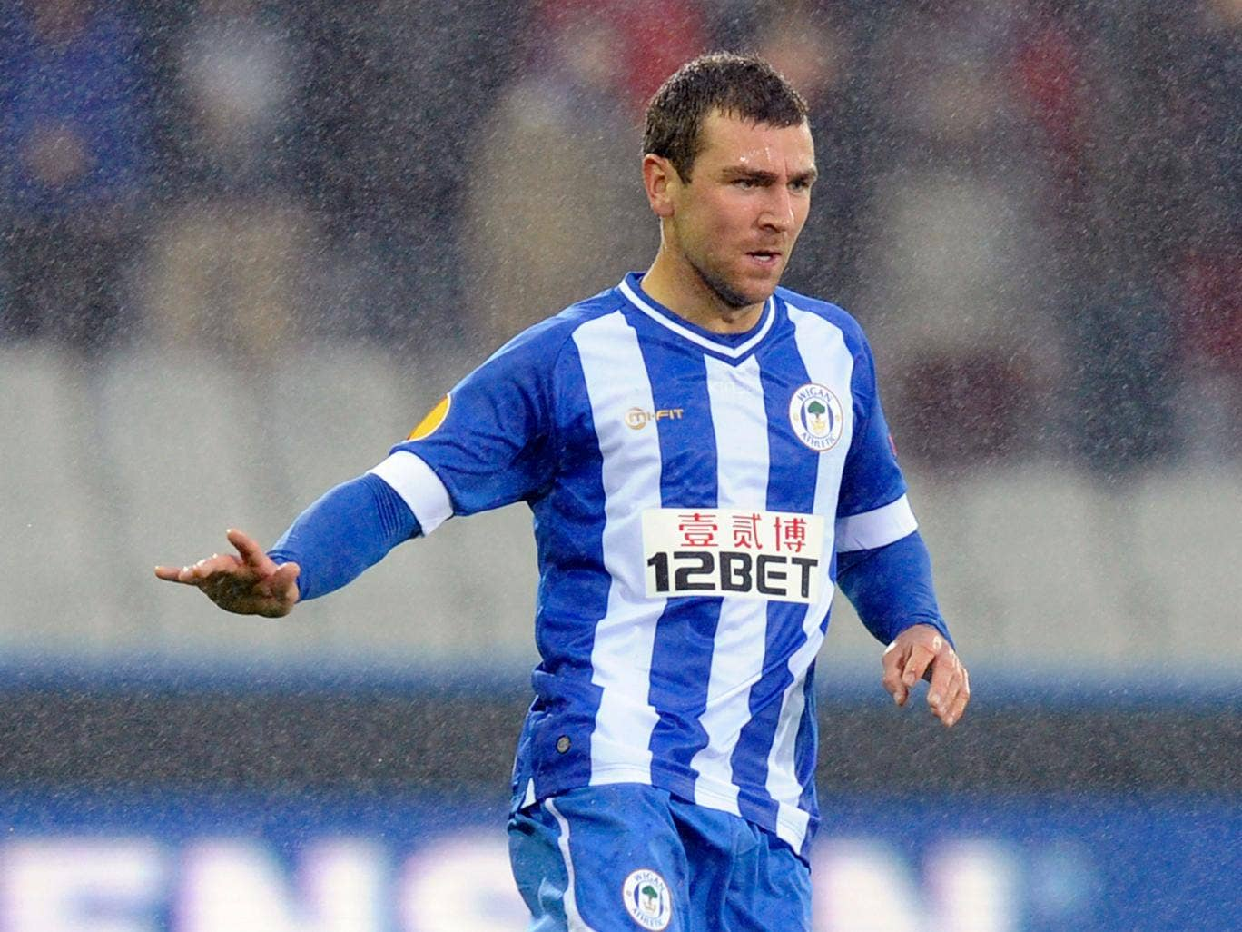 Wigan midfielder James McArthur is hoping to produce something special against Rubin Kazan in the Europa League