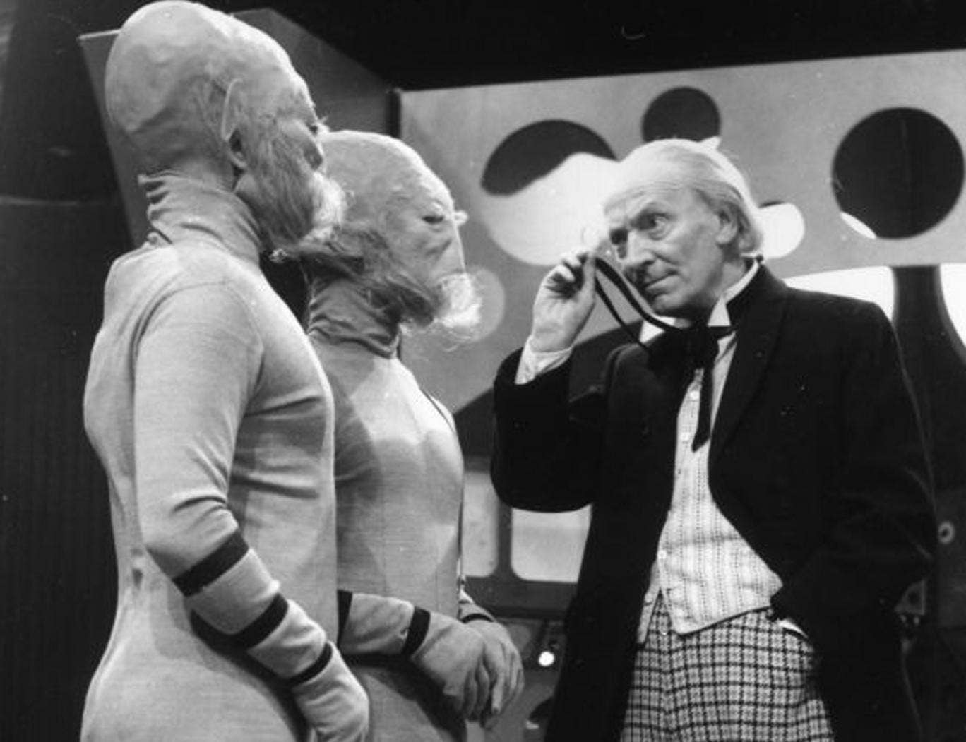 William Hartnell's Doctor encounters the Sensorites
