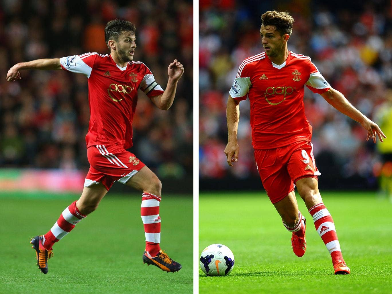 Southampton duo Adam Lallana and Jay Rodriguez have received a call-up to the England squad for the friendlies against Chile and Germany