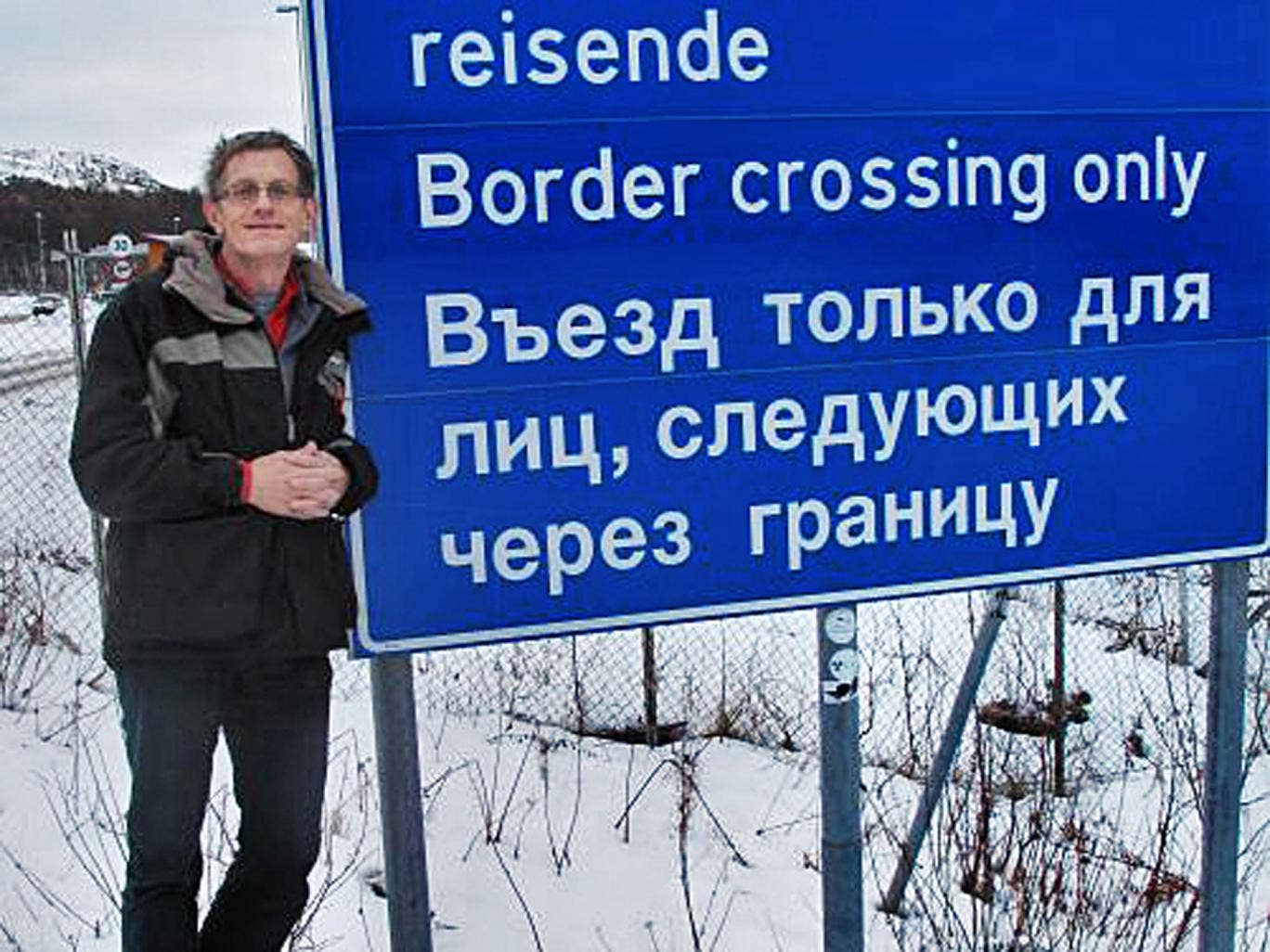 Wild frontier: the only crossing between Russia and Norway
