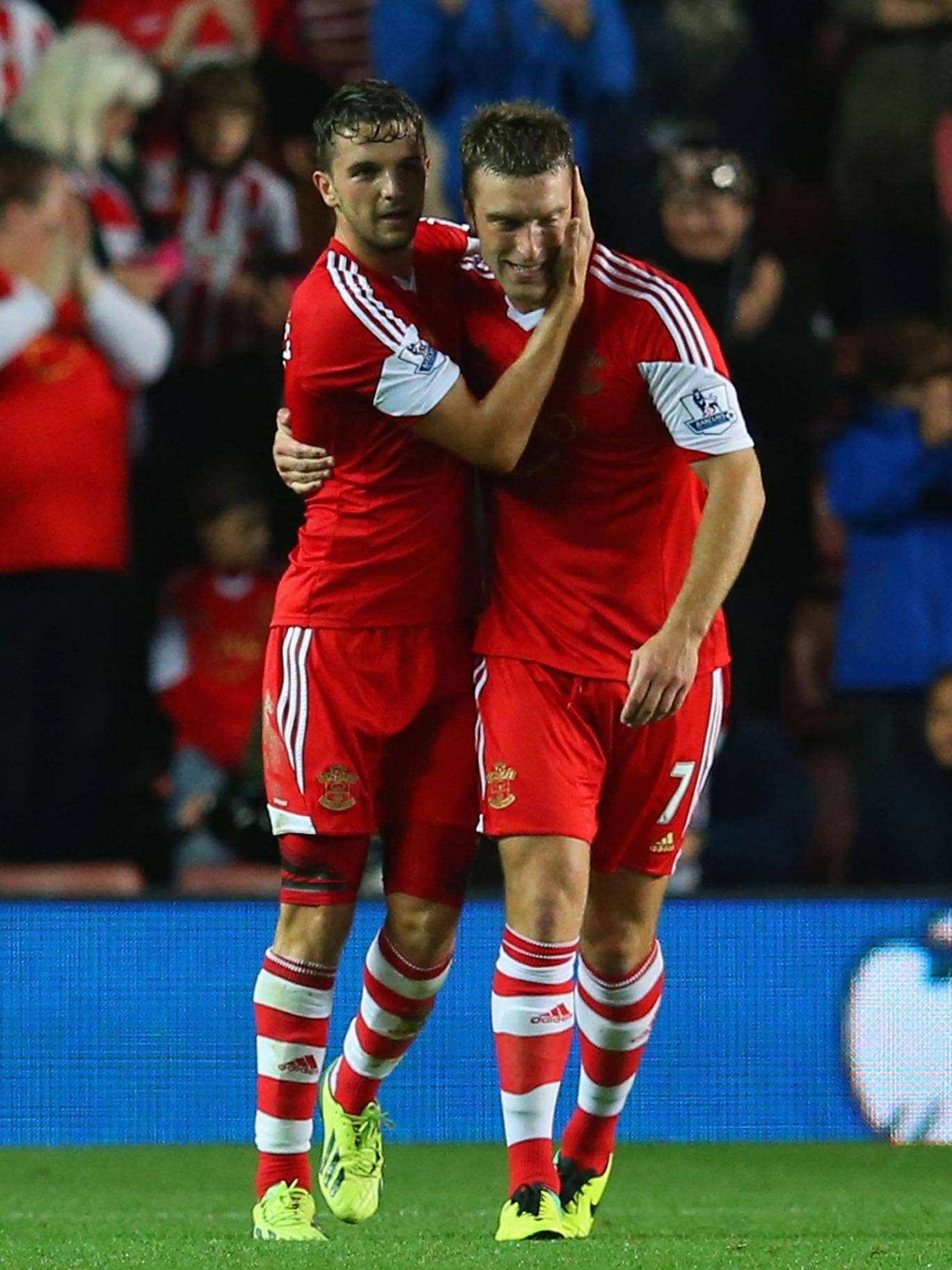 Jay Rodriguez will join Southampton team-mate Rickie Lambert in the England squad