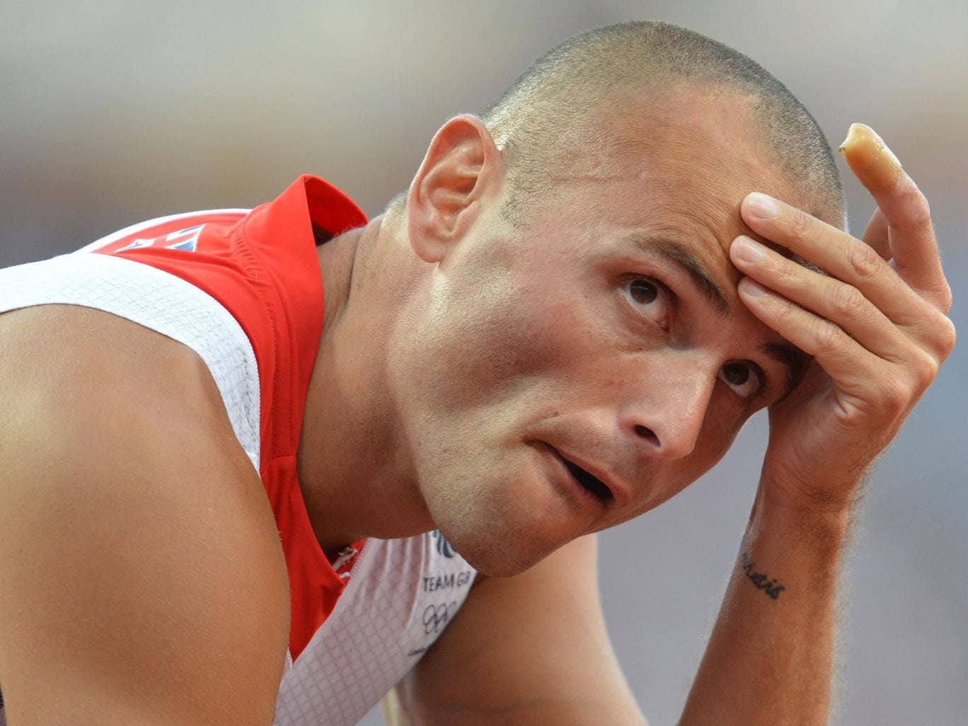 Hurdler Andy Turner found out his has had been burgled when he returned from his mother's future on Thursday night