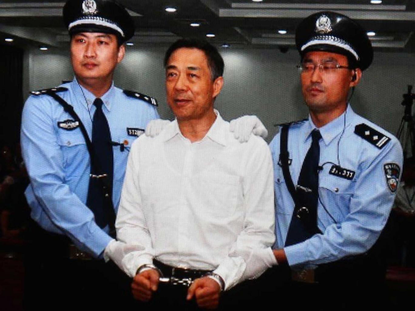 Bo Xilai was jailed for life in September