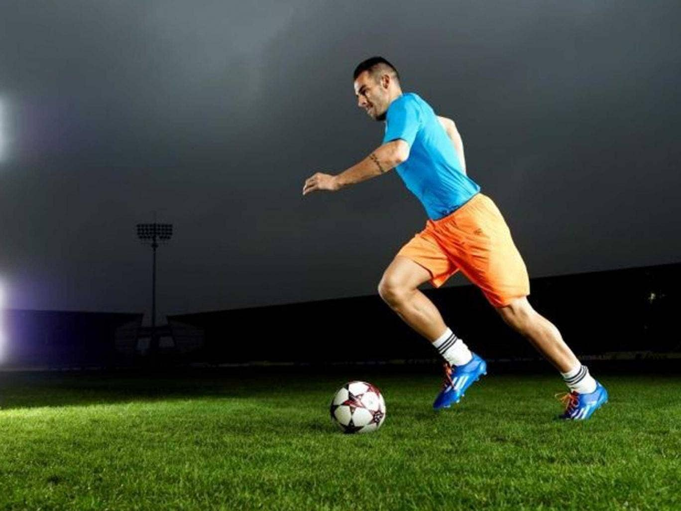 Forward looking: Alvaro Negredo has already scored a total of 12 goals for Manchester City and Spain this season