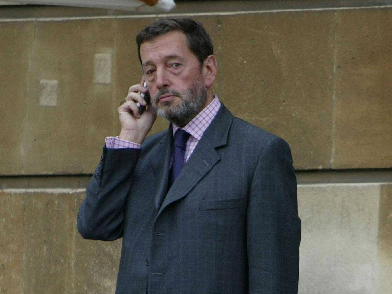 """David Blunkett was bemused about the """"phenomenal amount"""" of information the media were getting hold of linked to his personal life"""
