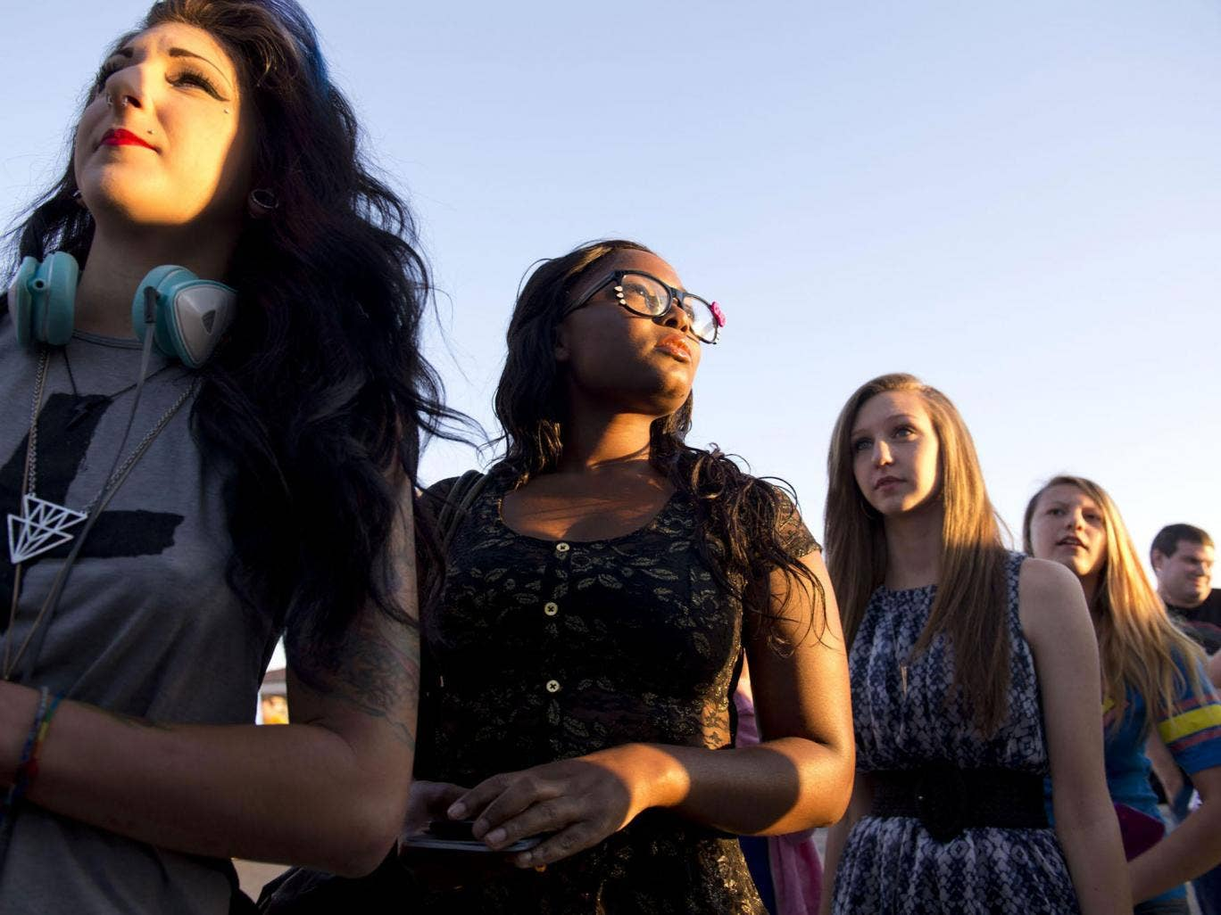 Hope rather than experience: Young fame-seekers queue for TV talent show auditions