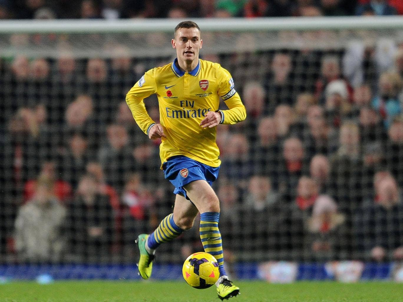 Arsenal captain Thomas Vermaelen admits Sunday's defeat to Manchester United was a missed opportunity