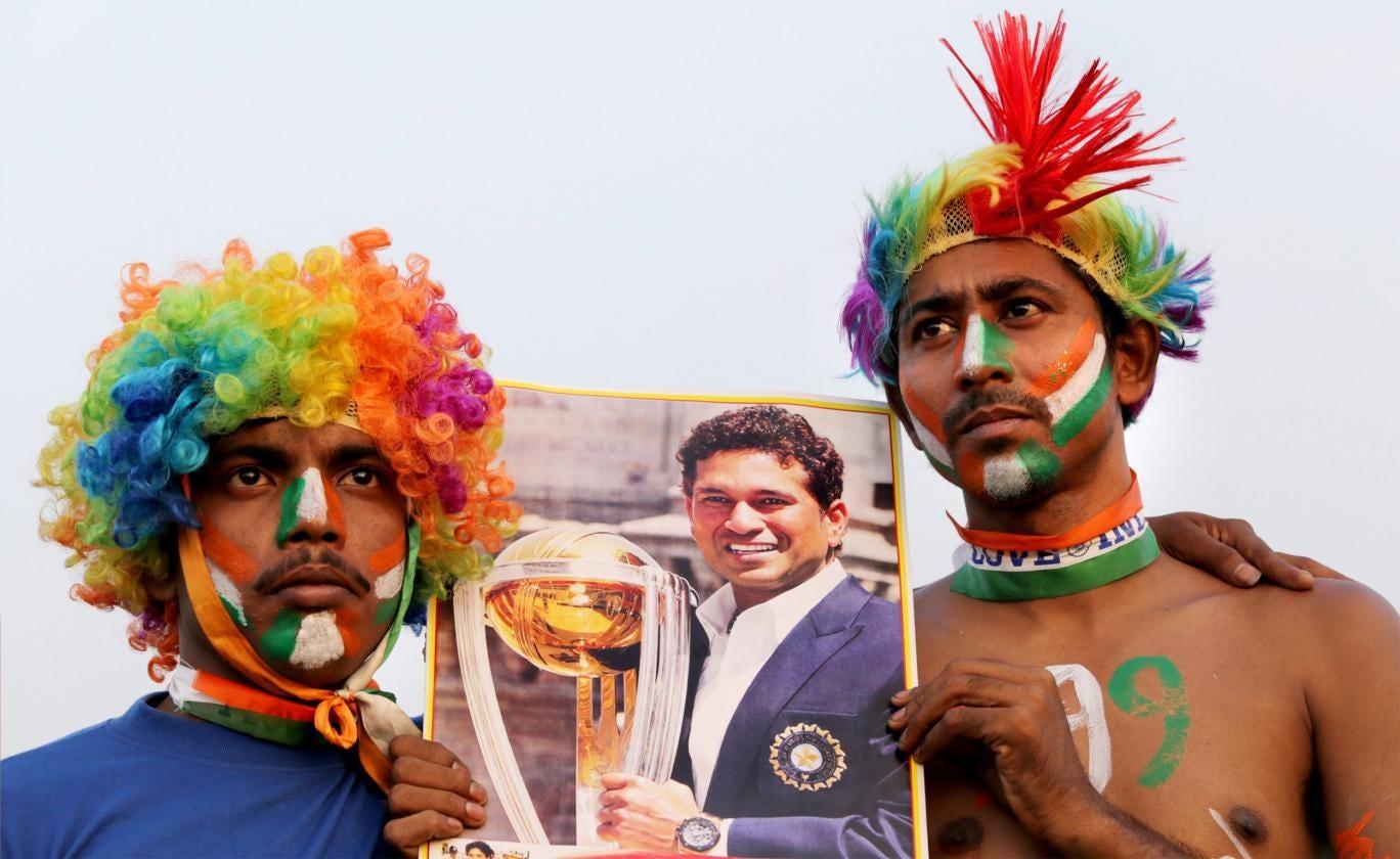 India's fans express their appreciation of Tendulkar last week