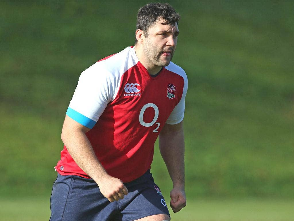 Alex Corbisiero's knee injury has added to England's front-row problems