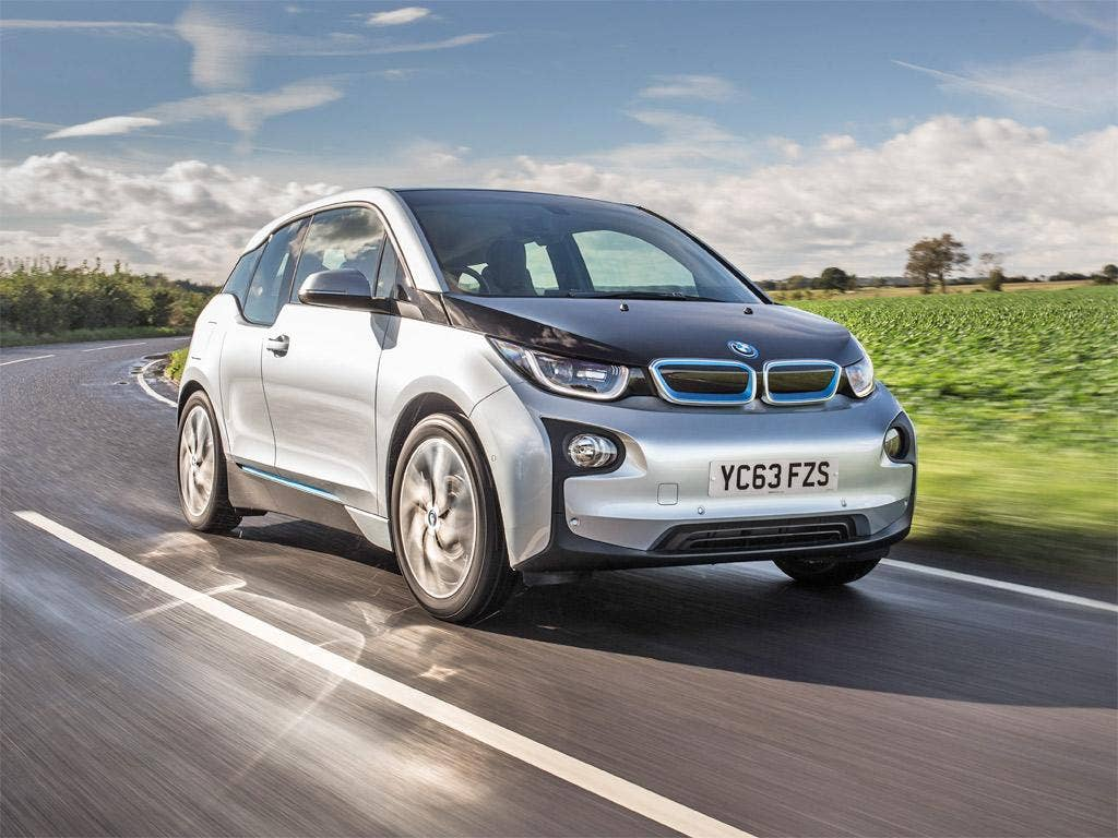 Technologically advanced: the BMW i3 Range Extender