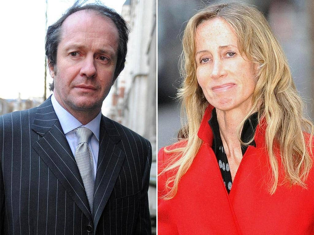 Scot Young and Michelle Young. Ms Young claims her ex-husband has committed a 'fraud' on the marital estate