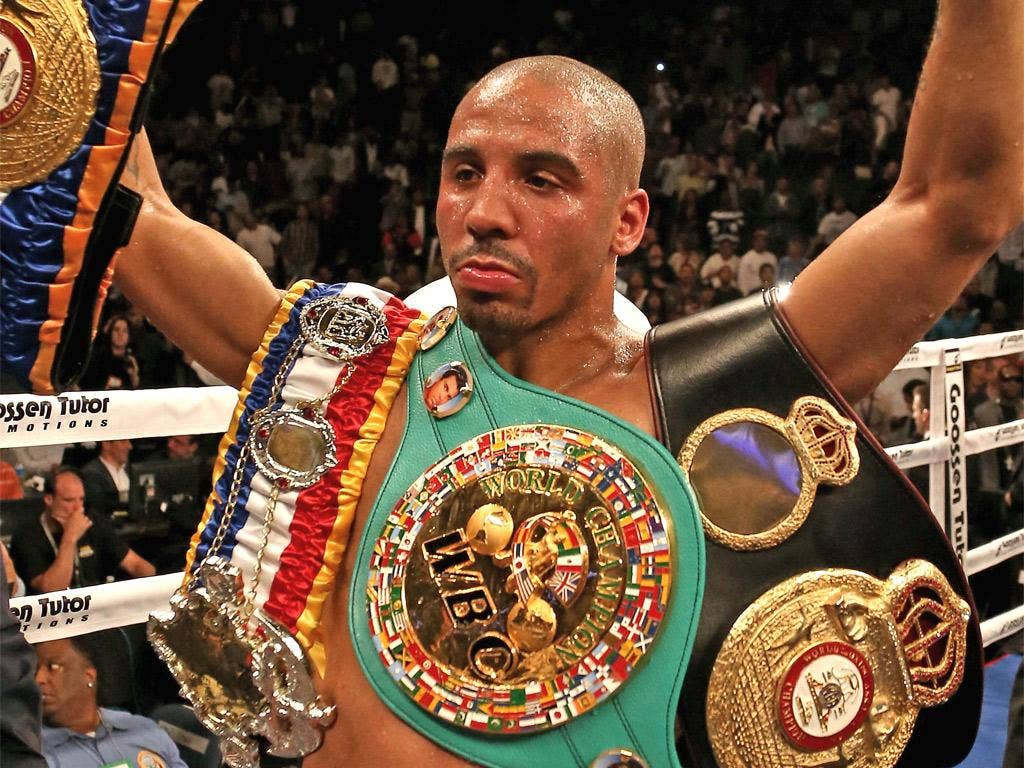 Andre Ward is a born-again Christian and unbeaten in 26 fights as a professional