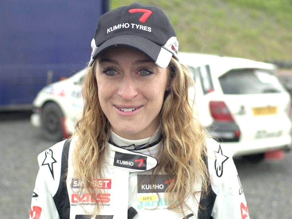 Olympic winner Amy Williams is making her rallying debut