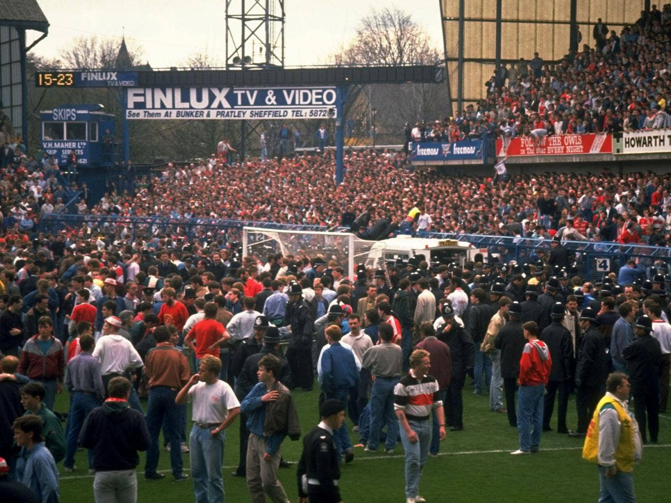 Hillsborough 1989, in Independent: Getty Images