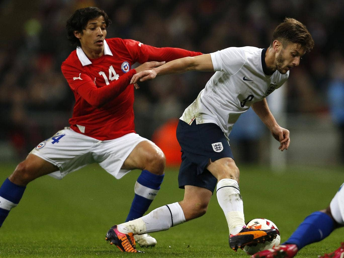 Adam Lallana  was outshone on his debut by the visitors' ability to dominate midfield