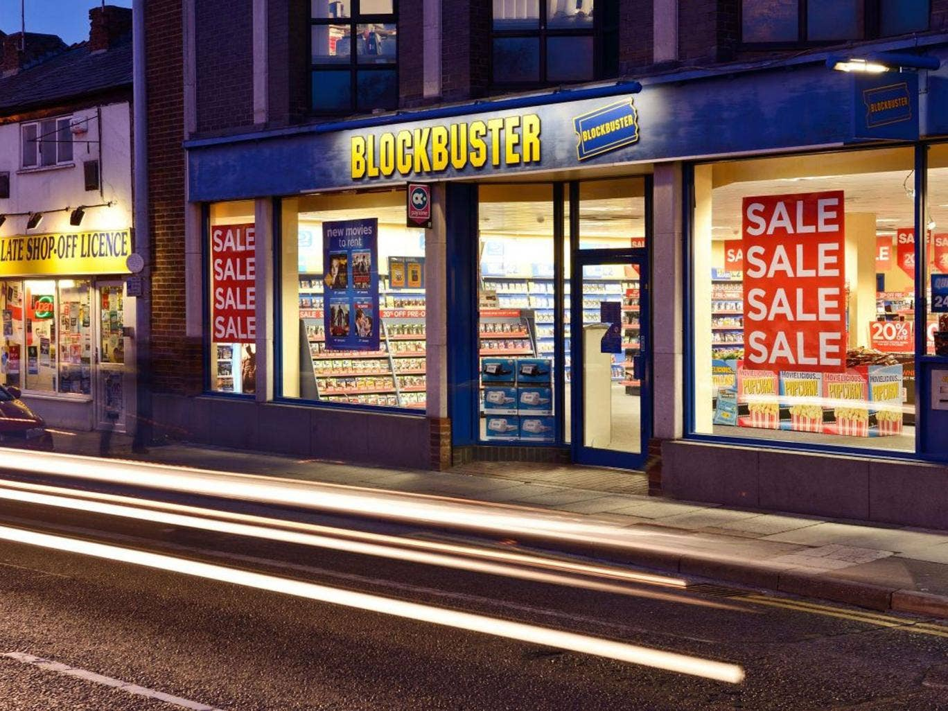 Blockbuster appears to be on an inevitable decline