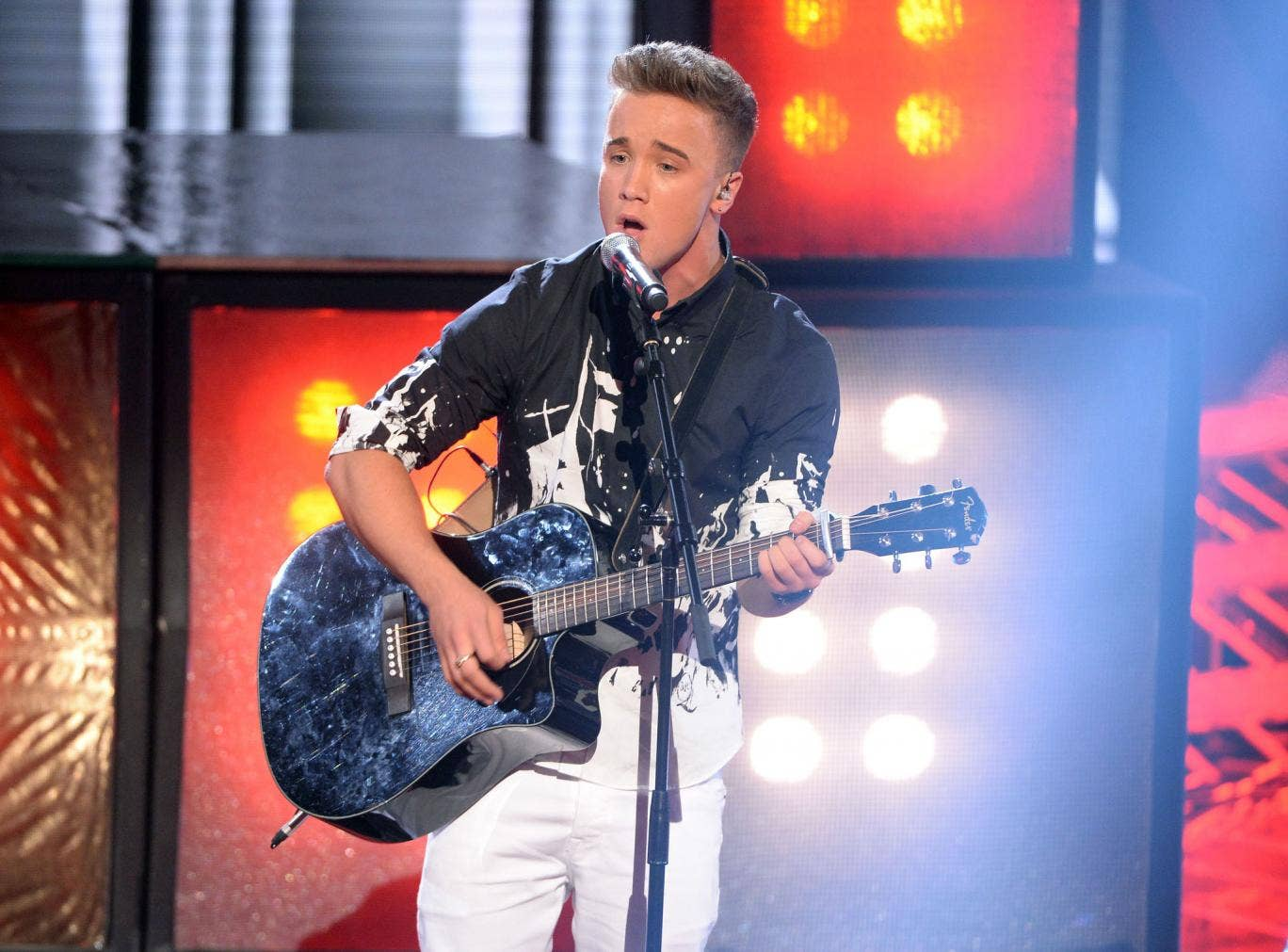 X Factor 2013 contestant Sam Callahan