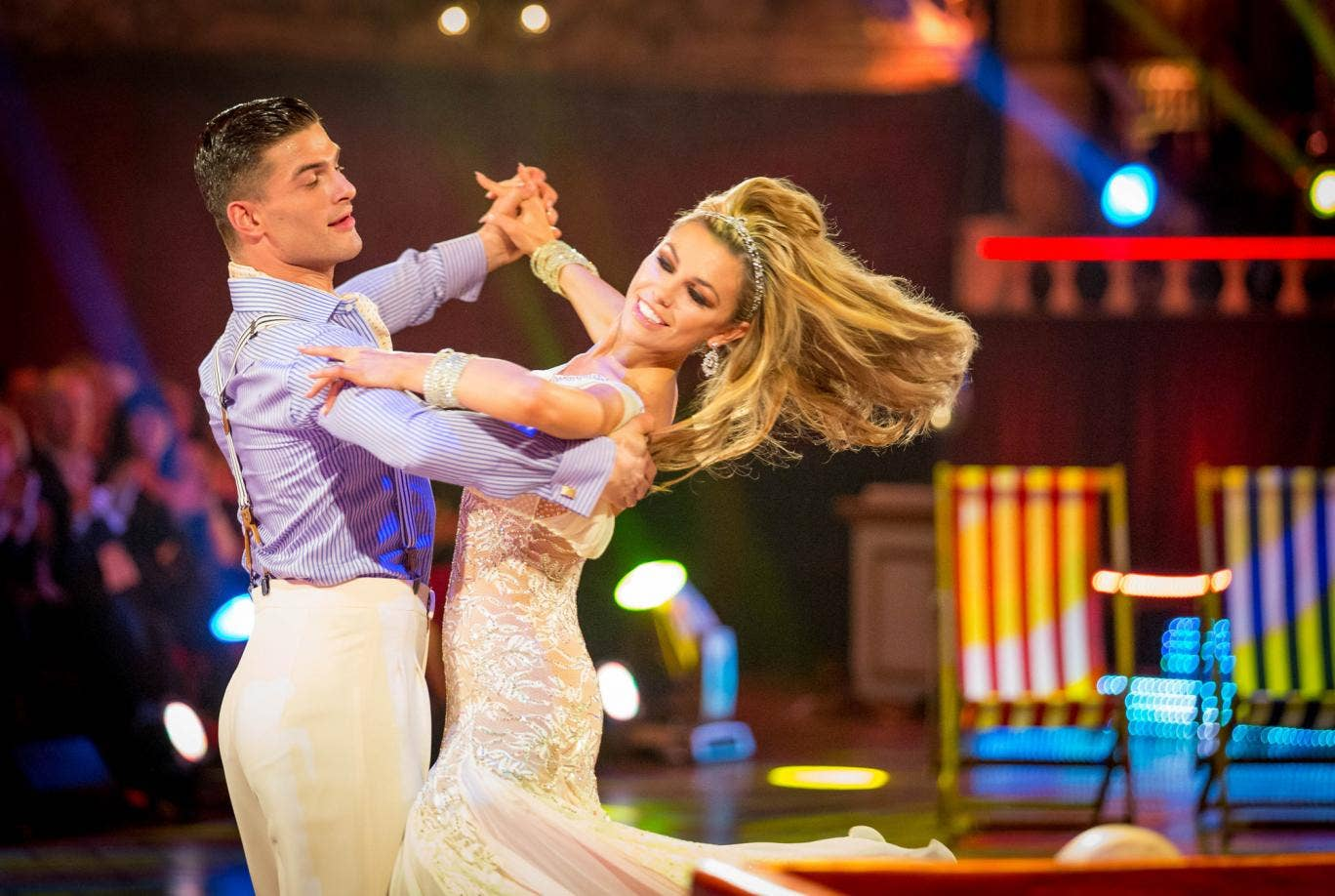 Model Abbey Clancy was among the victims of the Strictly theft on Saturday