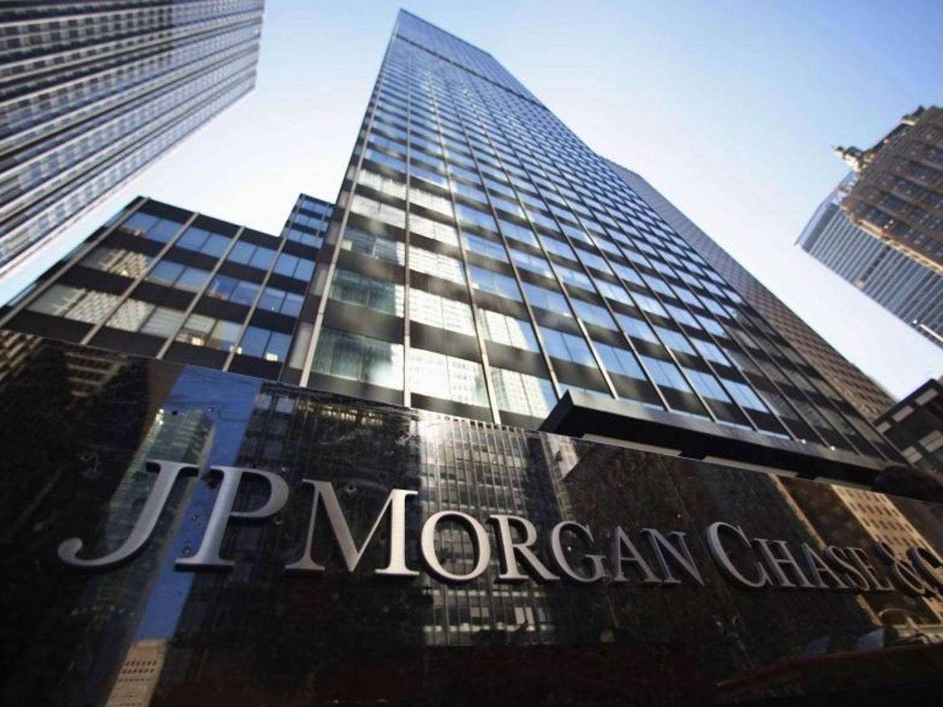 The JPMorgan Chase & Co. headquarters in New York. The bank is set to agree a $13bn compensation deal with the US Justice Department
