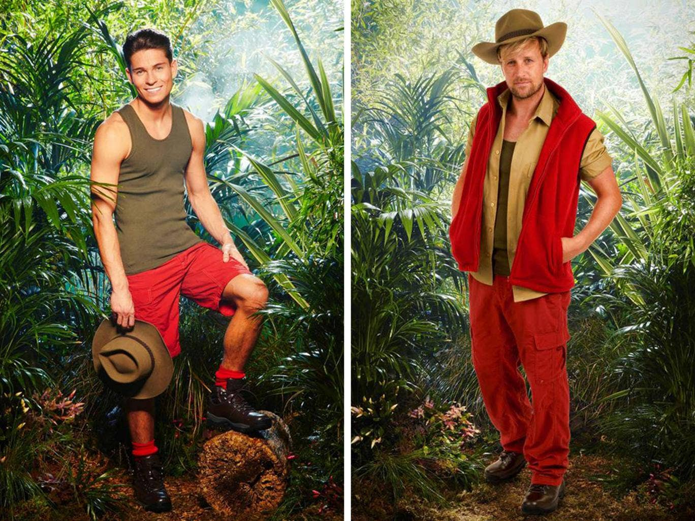 Westlife's Kian Egan has emerged as an early rival for Joey Essex in the battle for the I'm A Celebrity crown